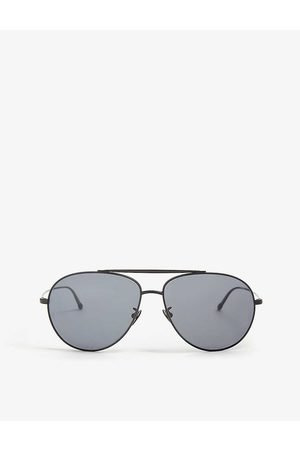 Armani Ar6093 pilot-frame metal sunglasses