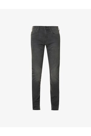 Paige Lennox slim-fit mid-rise stretch-denim jeans