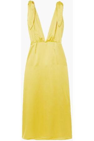 Bernadette Woman John Silk-satin Midi Dress Size 34