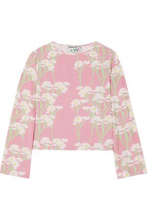 Bernadette Woman Monica Floral-print Stretch-jersey Top Size 34
