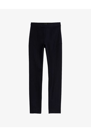 Ted Baker Cayla seam-detail slim-fit cotton trousers