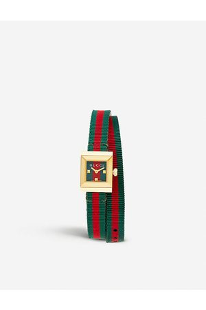 Gucci YA128527 G-Frame stainless steel watch