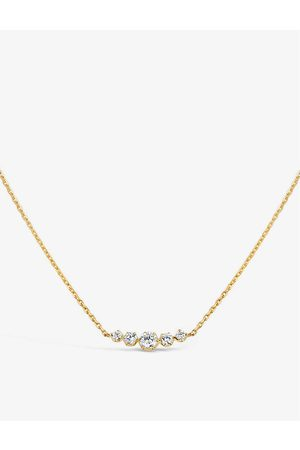 The Alkemistry Dinny Hall Elyhara 14ct - and diamond necklace