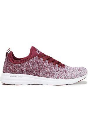APL® ATHLETIC PROPULSION LABS Women Trainers - Woman Techloom Phantom Dégradé Stretch-knit Sneakers Burgundy Size 11