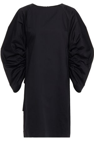 Rodebjer Women Dresses - Woman Elureta Gathered Cotton-poplin Mini Dress Size L