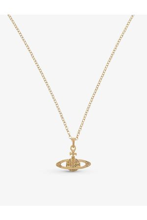 Vivienne Westwood Mini Bas Relief diamante orb necklace