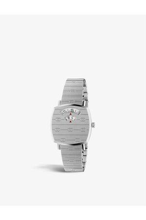 Gucci YA157501 Grip stainless steel watch