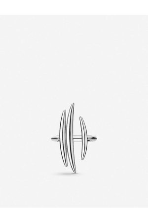 SHAUN LEANE Quill sterling triple bar ring