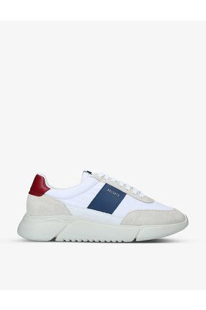 Axel Arigato Genesis Vintage Runner suedette and recycled-polyester mid-top trainers