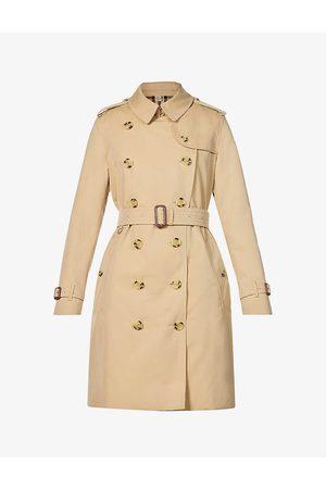 Burberry Kensington short cotton trench coat