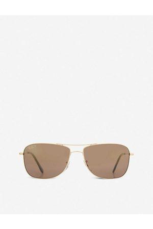 Police Mens Shiny Rb3543 Aviator Sunglasses