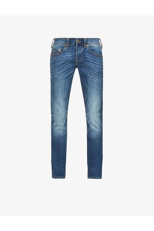 True Religion Rocco mid-rise stretch-denim jeans