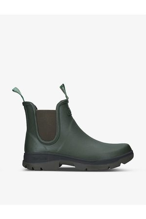 Barbour Fury waterproof rubber Chelsea Wellington boots