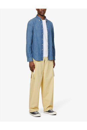 Polo Ralph Lauren Men's Dark Wash Slim-Fit Denim Sport Shirt
