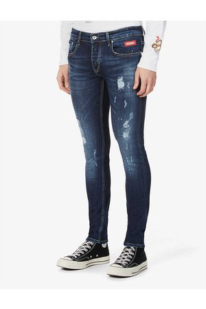 Inside OUT Denim Paint Splash V.2 slim-fit jeans