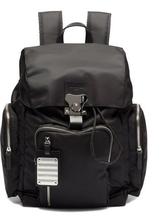 FPM Milano Men Rucksacks - Butterfly Medium Leather-trim Backpack - Mens