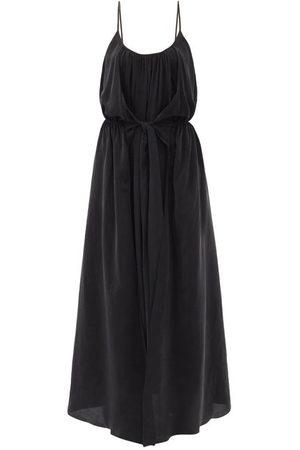 Raey Women Dresses - Knot-front Elasticated-waist Crepe Dress - Womens