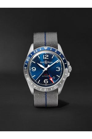 Bell & Ross BR V2-93 GMT Automatic 41mm Steel Watch