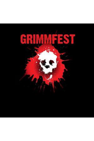 Grimmfest 2020 Skullsplat Logo Men's T-Shirt
