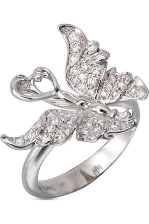 Carrera 18kt white gold diamond Alegoria ring