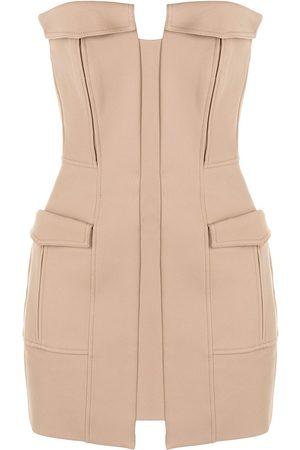 DION LEE Women Party Dresses - Pocket bustier minidress