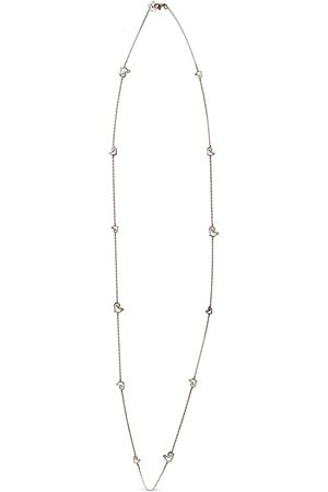 CHANTECLER 18kt rose gold heart charm necklace
