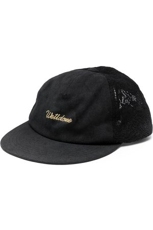 We11 Done Hats - Embroidered-logo baseball cap