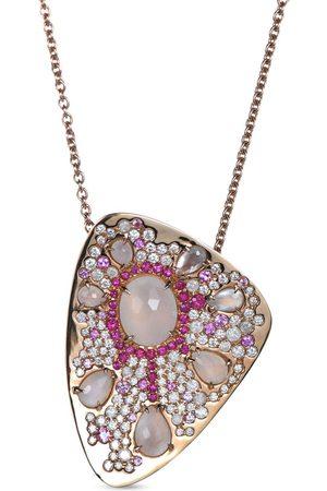 RODNEY RAYNER 18kt gold Starburst pendant necklace