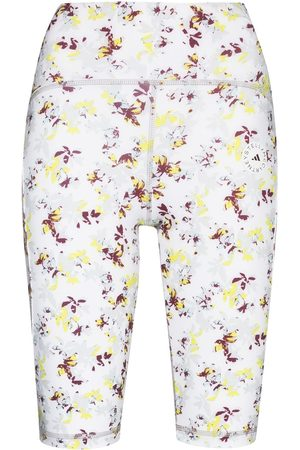 adidas TruePurpose floral-print cycling shorts