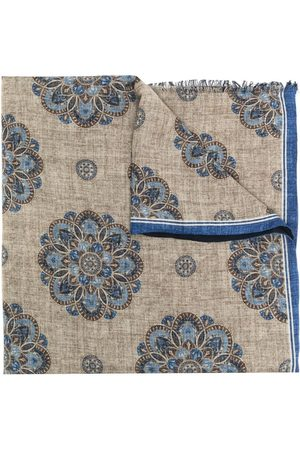 Lady Anne Vail printed scarf - Neutrals