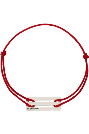 Le Gramme Men Bracelets - Sterling silver Le 2.5g cord bracelet