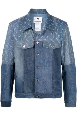 Marine Serre Crescent Moon denim jacket