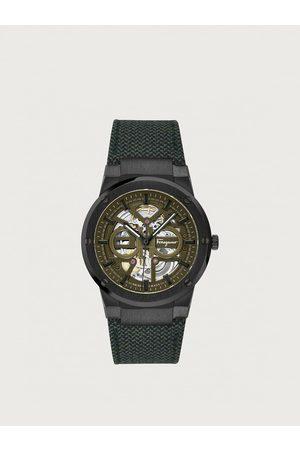 Salvatore Ferragamo Men Watches - Men F-80 Skeleton watch