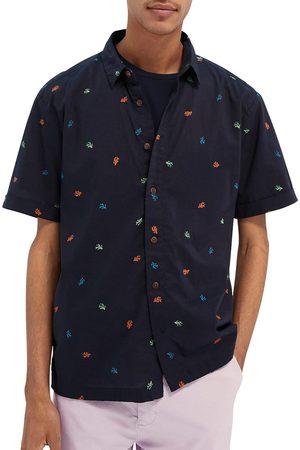 Scotch&Soda Floral Print Short Sleeve Shirt