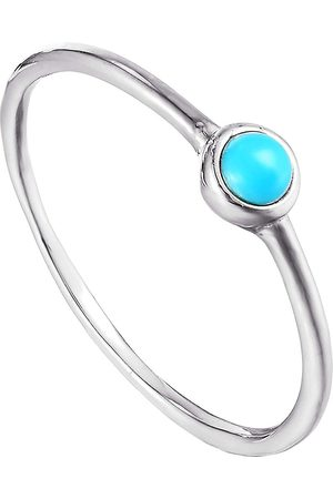 The Love Silver Collection Sterling Turquoise Bezel Ring