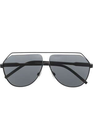 Dolce & Gabbana Cut-out aviator-frame sunglasses