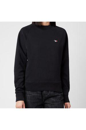 Maison Kitsuné Women Sweatshirts - Women's Tricolor Fox Patch Sweatshirt