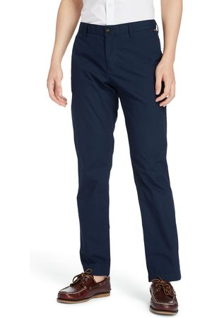 Timberland Men Trousers - Squam lake stretch chino pants for men in navy navy, size 31x32