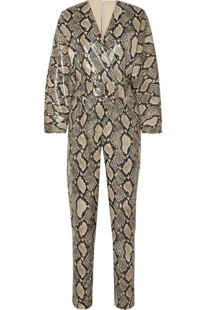 Stand Studio Woman Full Length Jumpsuits Animal Print Size 32