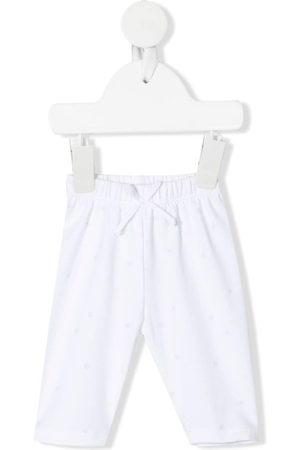 KNOT Bow-detail organic-cotton leggings