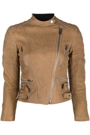 Céline 2015 padded biker jacket - Neutrals