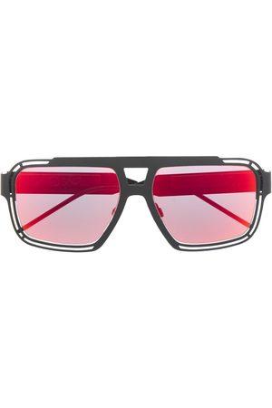 Dolce & Gabbana Men Sunglasses - DG logo navigator-frame sunglasses