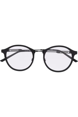 Calvin Klein Matte finish round frame glasses