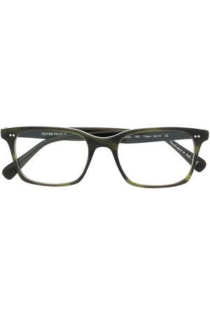 Oliver Peoples Nisen rectangular-frame glasses