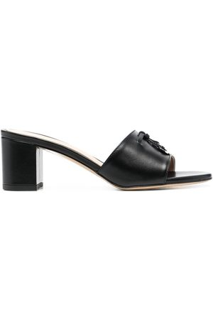 Scarosso Women Sandals - Logo-charm detail mules