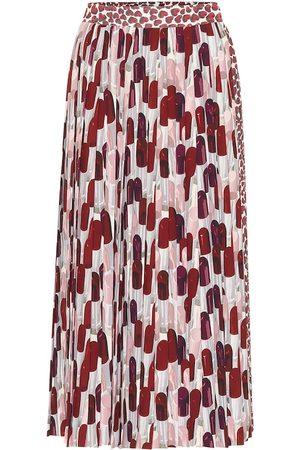 Prada Printed sablé midi skirt