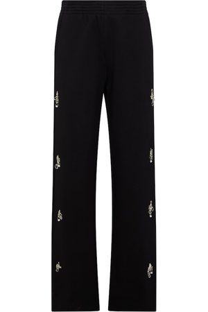 Givenchy Embellished cotton sweatpants