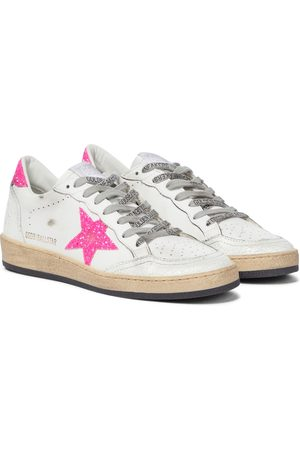 Golden Goose Women Trainers - Ball Star leather sneakers