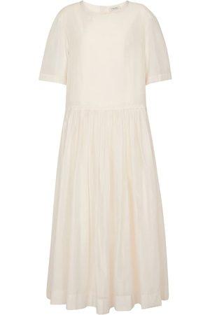 Max Mara Women Maxi Dresses - Caldeo cotton-blend maxi dress