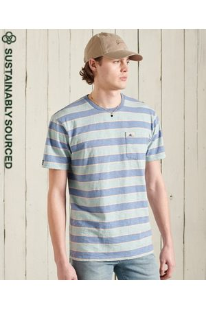 Superdry Men Short Sleeve - Organic Cotton Cali Surf Relaxed Fit T-Shirt